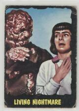 1964 Topps Bubbles Outer Limits Printed in USA #43 Living Nightmare Card 0s4