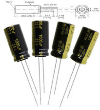 4x Panasonic FM 1000uF 35v Low-ESR radial capacitors caps 105C 12.5mm 12.5x25