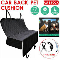 Pet Car Seat Cover Waterproof Rear Seat Dog Cushion Hammock Mat Protection Pad