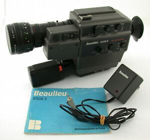 BEAULIEU 6008-S S-8 Super movie film absolute prime part DEFECTIVE teil-defekt !