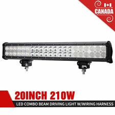 20 Inch 210W LED Work Light Bar Spot Flood Combo Beam Offroad Driving Lights