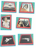 BUCK ROGERS trading cards STICKERS ~ 1979 TOPPS ~ 13 stickers
