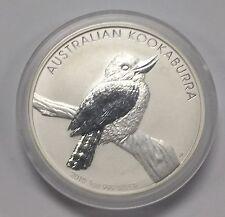 {BJSTAMPS}  2010 Australia $1 Kookabura .999 1 Oz Silver Nice BU in Capsule