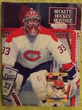 Beckett Hockey Price Guide - April 1991 - Patrick Roy - Adam Oates