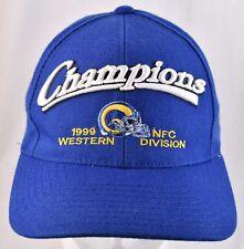 St Louis Champions 1999 Western Division NFC Baseball Cap Hat Snapback