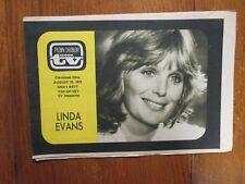 1975 Cleveland Plain Dealer TV Mag(LINDA EVANS/LUCIE ARNAZ/ELIZABETH MONTGOMERY