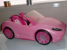 Barbie Rose Bébé Convertible Voiture de Sport-rose sièges-Rose Roues