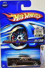 HOT WHEELS 2006 FIRST EDITIONS NISSAN TITAN #031 BLACK FACTORY SEALED