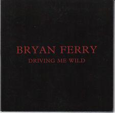 BRYAN FERRY Driving Me Wild 2015 UK 1-trk promo test CD gatefold sleeve