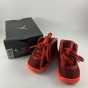 Baby Size 4C Bright Red Air Jordan Horizon BT Sneakers/Tennis Shoes Original Box