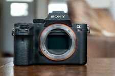 Sony Alpha A7RII A 7R II 42.4 MP Digital Camera (Body Only) - Good Condition