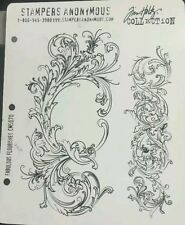 Stampers Anonymous Tim Holtz Collection Fabulous Flourishes CMS 070