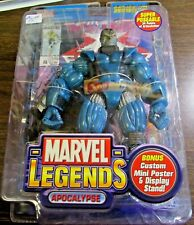 2004 - MARVEL LEGENDS - SERIES VII - APOOCALYPSE - POSEABLE - TOY BIZ UNOPENED 3