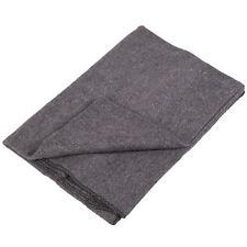 Wolldecke Katastrophenschutz grau gewalzt Armeedecke Pferdedecke THW Decke Wolle