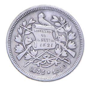 Better - 1890 Guatemala 25 Centavos *479