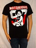 Notorious 97 100% Black Cotton Short Sleeve Cotton Tee Size Men's S