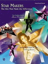 NEW Star Makers: The Hits That Made the Difference (Piano/Vocal/Chords)
