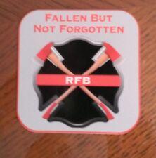 """Fallen But Not Forgotten RFB Remember Fallen Brothers Decal Contour Cut 4"""""""