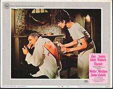 CHARADE original lobby card # 8 AUDREY HEPBURN/CARY GRANT 11x14 movie poster