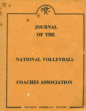 Journal of the National Volleyball Coaches Assn, Vol VI, No. 1 & 2, June 1985 W2