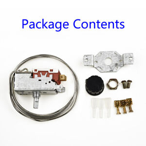 Universal Nevera Congelador Kit Termostato Control de Temperatura Interruptor