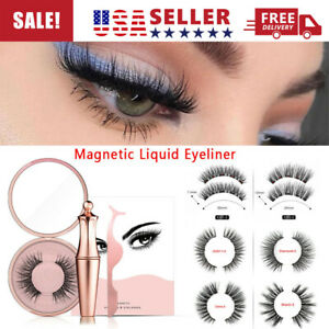 For Fashion Lashes Kit One Magnetic False Eyelashes AND Magnetic liquid Eyeliner