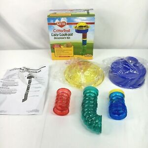 Kaytee CritterTrail Lazy Look-Out 5 Piece Expansion Accessory Kit Open Box 2013