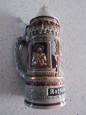 Rothenburg O.T. Beer Stein Handmade Germany Stunning