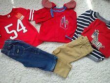 Bonita colección verano 40x siguiente Oshkosh Gap paquete trajes niño 12/18 mths (5.2)