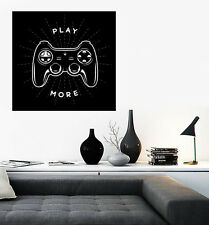 Large Vinyl Decal Wall Sticker Video Games Xbox Play More (n644)