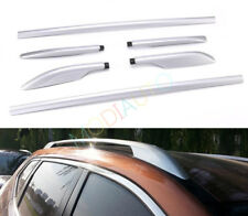 Fits 2015-2019 Nissan Rogue Alloy Top Roof Side Bars Rails Rack Luggage Carrier