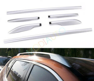 2014-2017 Alloy Top Roof Side Bars Rails Rack Luggage Carrier For Nissan Rogue
