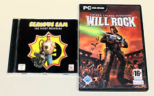 2 PC GIOCHI-Serious Sam The First Encounter & Will Rock-Classic EGO Shooter