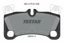 2461401 TEXTAR CAR BRAKE PADS Rear