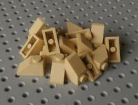 Lego Slope 45° 2x1 [3040] Beige Tan x16