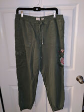 9 H15 STCL Women's Moss Green Pants from Anthropologie