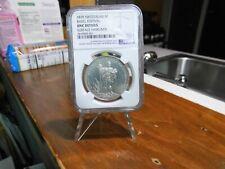 Switzerland 1879 Basel Shooting Fest. 5 Franc Thaler Silver NGC UNC-Details Coin