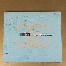 LITFIBA - ESSERE O SEMBRARE - 2005 ELETTROMACUMBA - NUOVO CD [AN-022]