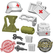 "Brickforge ""COMBAT MEDIC"" Accessory Pack for Lego Minifigures WW2 NEW"