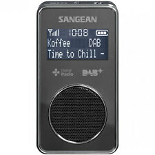 Sangean DAB+ / FM-RDS Personal Pocket Radio in Black DPR35B