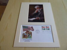 John Muir Yosemite National Park photograph and his USA FDC mount size A4