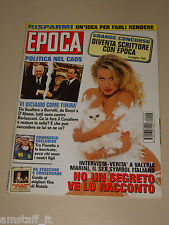 EPOCA=1994/2304=VALERIA MARINI COPERTINA RIVISTA MAGAZINE=VIVIANA BECCALOSSI=