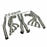For Chevy Corvette 05-13 C6 LS2 LS3 Stainless Exhaust Headers Manifolds & X Pipe