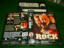 Vhs *THE ROCK (1996)* Australian Hollywood Pictures Issue - Epic Action Thriller