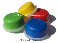 Tupperware Smidgets Mini Bowls Set of 4 Containers New Red Yellow Blue Green