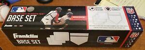 New Franklin Throw-Down Rubber-Tek 5 Piece Base Set Baseball Homeplate Pitcher's
