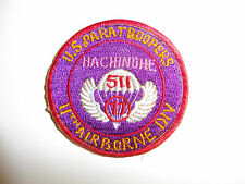 b5223 WW2 Occupation US Army 11 Airborne Division Hachinohe Paratroopers 511 R3D