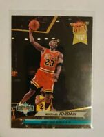 1992-93 Fleer Ultra NBA Jam Session Michael Jordan #216, Chicago Bulls, HOF