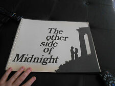 RARE Spiral Softcover Press Book THE OTHER SIDE OF MIDNIGHT 1977 Susan Sarandon