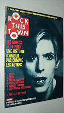 ROCK THIS TOWN 56 (3/88) DAVID BOWIE ARNO AC/DC SINEAD O CONNOR  KINKS JAGGER(2)
